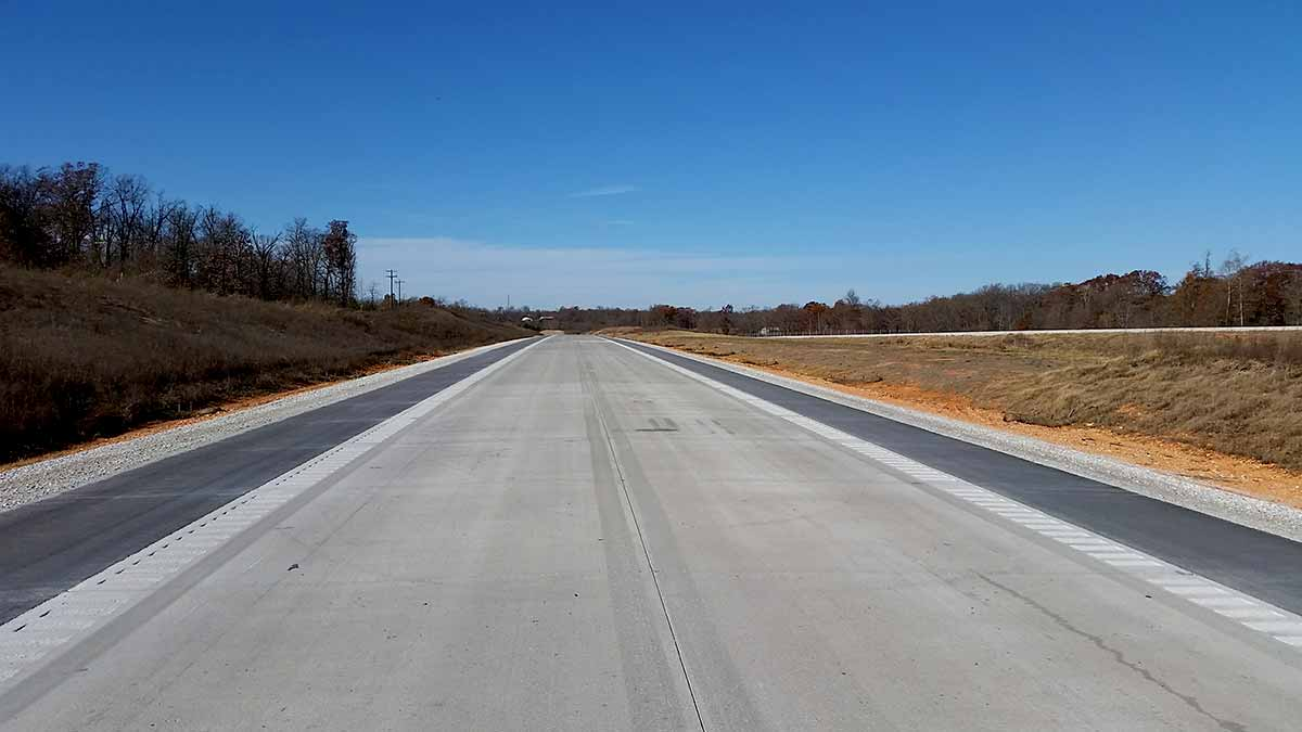 Highway 549 Benton County Connecting Arkansas Program - Us-highway-71-map