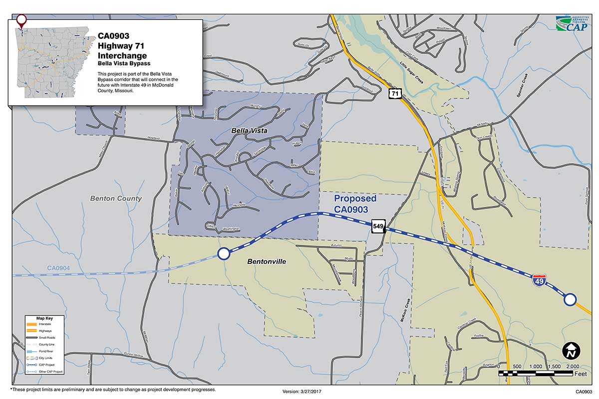 Highway Benton County Connecting Arkansas Program - Arkansas highway map
