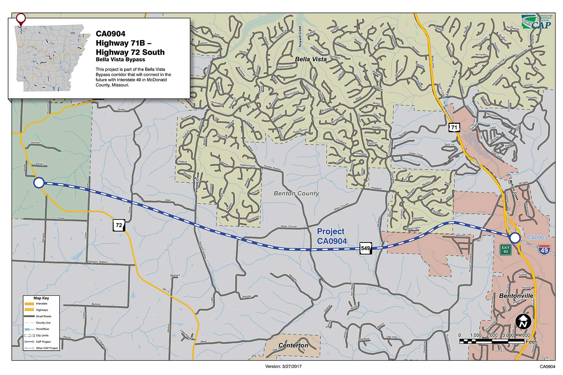 View Ca0904 Project Map